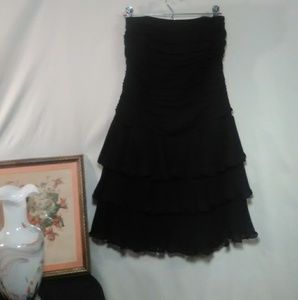 White House Black Market Dresses - White House Black Market ** Mini Strapless Tiered